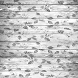 White Grey Flower Wood Backdrop - 2239 - Backdrop Outlet