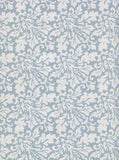Printed Blue Lace Leaf Pattern Backdrop - 224 - Backdrop Outlet