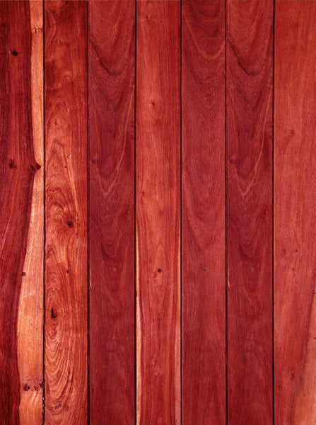 2257 Red Wood Backdrop - Backdrop Outlet