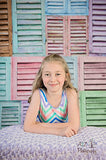 2276 Shutters Pastel Backdrop - Backdrop Outlet - 2