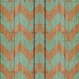 2290 Teal Wood Chevron Backdrop - Backdrop Outlet