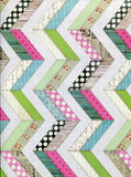 2318 Printed Pastel Chevron Floor Backdrop - Backdrop Outlet