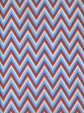 Printed Red Blue White Chevron Stripes Backdrop - 2324 - Backdrop Outlet