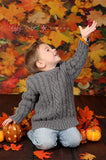 239 Autumn Leafs Backdrop - Backdrop Outlet - 1