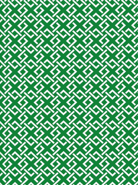 Lattice Pattern Green Backdrop - 2603 - Backdrop Outlet