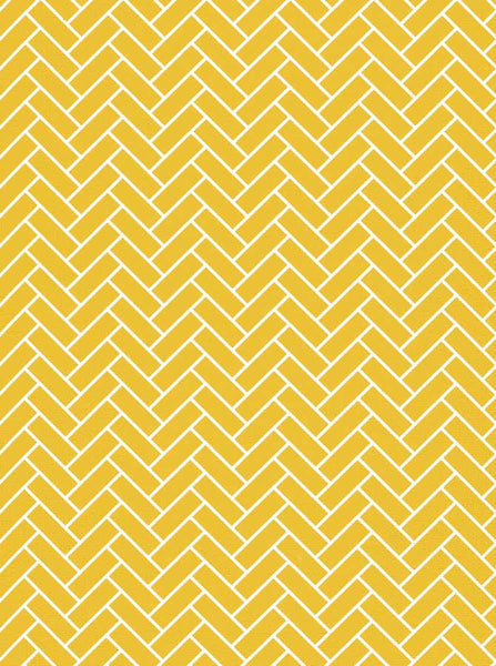 2609 Chevron Yellow Tile Wall Backdrop - Backdrop Outlet