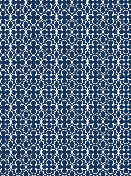 2612 Trellis Pattern Navy Blue Backdrop - Backdrop Outlet