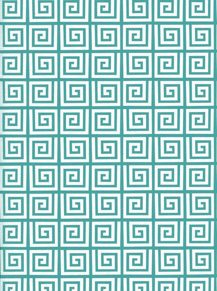 Key Pattern Aqua Backdrop - 2620 - Backdrop Outlet