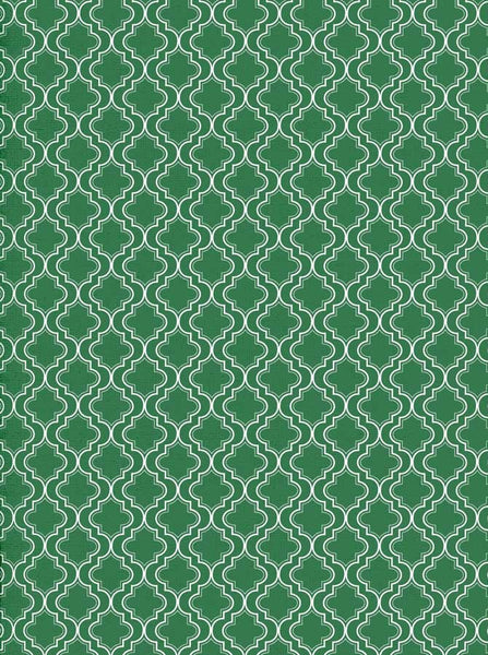 Moroccan Pattern Green Backdrop - 2624 - Backdrop Outlet