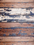 Distressed Wood Backdrop - 2736 - Backdrop Outlet