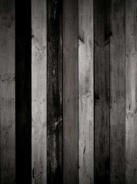 Black Grey White Wood Backdrop - 2747 - Backdrop Outlet