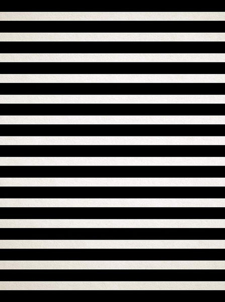 Textured Black and Cream Stripe Backdrop - 2780 - Backdrop Outlet