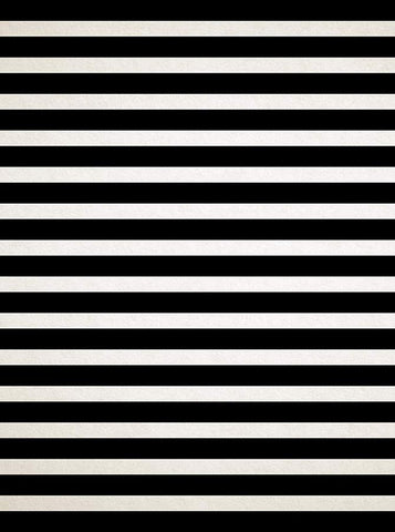 2780 Textured Black and Cream Stripe Backdrop - Backdrop Outlet
