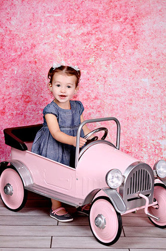 Printed Background Pink Distressed Backdrop - 3018 - Backdrop Outlet