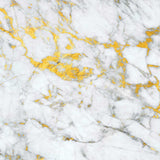 4642 White And Gold Marble Backdrop - Backdrop Outlet