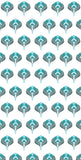 Abstract Turquoise Blue Flower Pattern Backdrop - 4648 - Backdrop Outlet