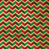 4649 3D Green Red Chevron Pattern Printed Background - Backdrop Outlet
