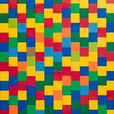 Colorful Puzzle Backdrop - 6011 - Backdrop Outlet