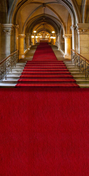 Red Carpet Staircase Backdrop 601 Backdrop Outlet