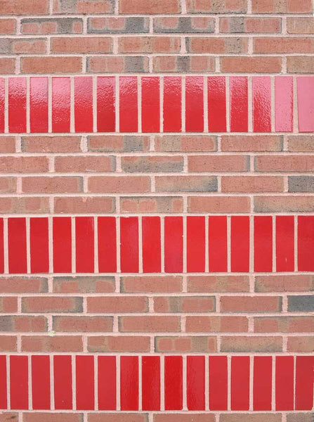 Brick Stripe Wall Backdrop - 6060 - Backdrop Outlet