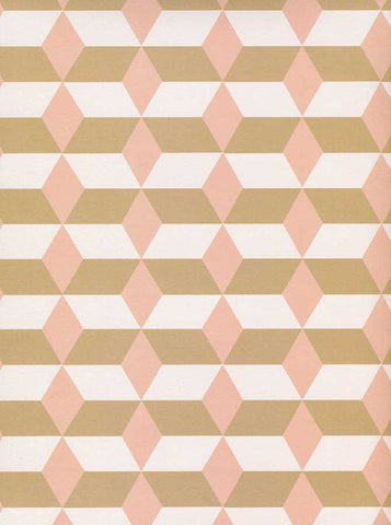 6122 Printed Tan Blush Diamond Stripe Backdrop - Backdrop Outlet