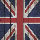 British Flag Wood Floor Printed Backdrop - 6212 - Backdrop Outlet