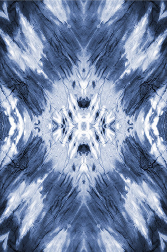 6237 Tie Dye Blue Wash Printed Photography Background - Backdrop Outlet