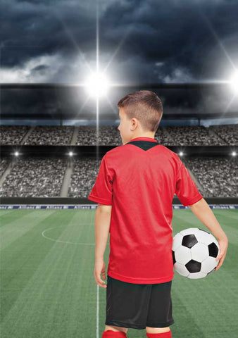 Soccer Stadium Field Backdrop - 6328 - Backdrop Outlet