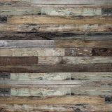 Vintage Multi Colored Rustic Wood Floor Photo Backdrop - 6337 - Backdrop Outlet