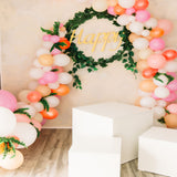 Party Balloons Happy Sign Photo Studio Printed Backdrop - 6360 - Backdrop Outlet