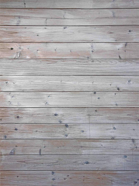 Grey Wood Floor Planks Textured Printed Backdrop - 6367 - Backdrop Outlet