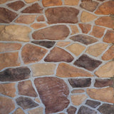 6708 Brown Cobblestone Backdrop - Backdrop Outlet