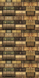 6747 Vintage Sepia Suit Cases Backdrop - Backdrop Outlet