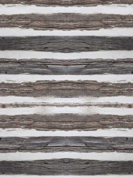 White Gray Distressed Wood Printed Backdrop - 6768 - Backdrop Outlet