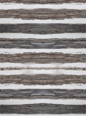 6768 White Gray Distressed Wood Printed Backdrop - Backdrop Outlet