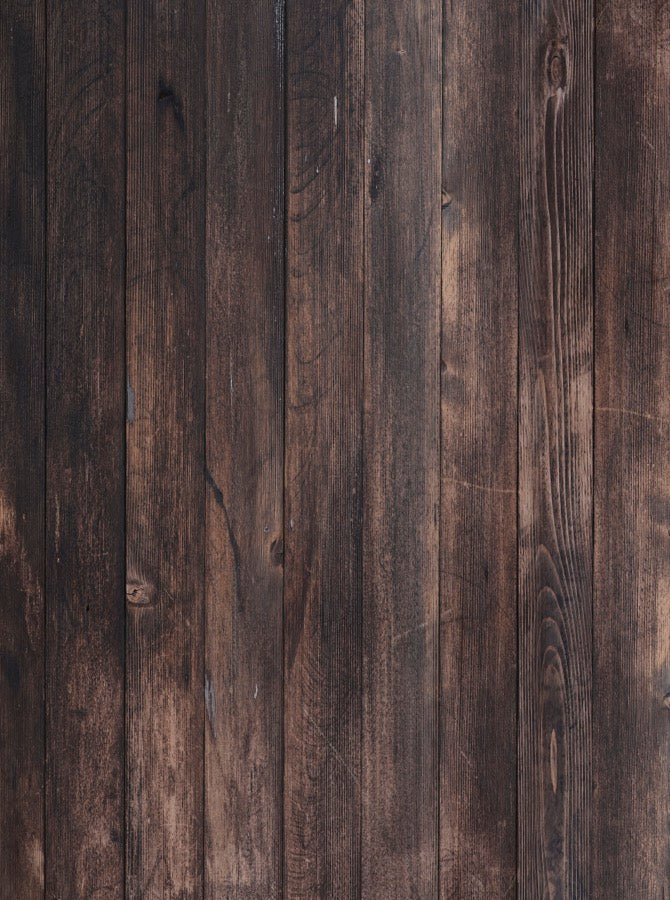 Beau Walnut And Oak Stained Dark Brown Wood Backdrop   6845   Backdrop Outlet