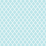 Moroccan Pattern Aqua Teal Backdrop - 6846 - Backdrop Outlet