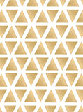 Gold Triangular Theme Pattern Printed Backdrop - 6849 - Backdrop Outlet
