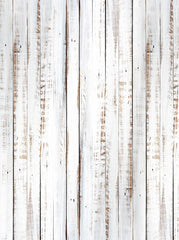 White Washed Out Rustic Wood Printed Backdrop - 6854 - Backdrop Outlet