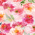 Printed Floral Water Color Pink, Magenta, and Orange Tone Flower Backdrop - 6862 - Backdrop Outlet