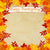 Autumn Leaves Happy Thanksgiving Backdrop - 6888
