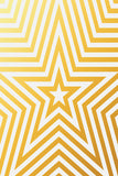 Printed Star Gold Line Pattern Background - 6934