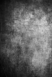 Printed Textured Black and Gray Concrete Wall Grunge Backdrop - 6948