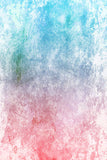 Printed Textured Abstract Overlay Pink and Blue Gradient Backdrop - 6965