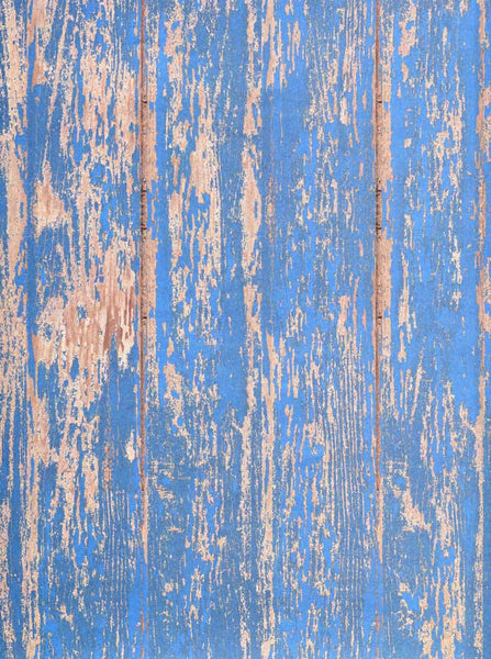 Weathered Blue Wood Backdrop - 7179 - Backdrop Outlet