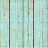 Faded Blue Wood Backdrop - 7189 - Backdrop Outlet