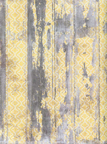 Yellow Grey Wood Backdrop - 7205 - Backdrop Outlet