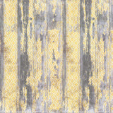 7205 Yellow Grey Wood Backdrop - Backdrop Outlet