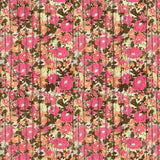 Flower Wood Printed Backdrop - 7208 - Backdrop Outlet