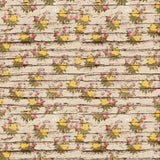 7214 Blooming Flowers Wood Backdrop - Backdrop Outlet